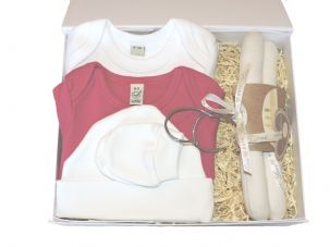 Mary Mary Girls Baby Gift Set by Mulberry Organics